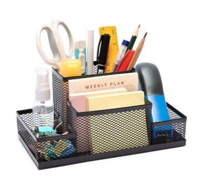 FASTUNBOX Metal Desk Organizer