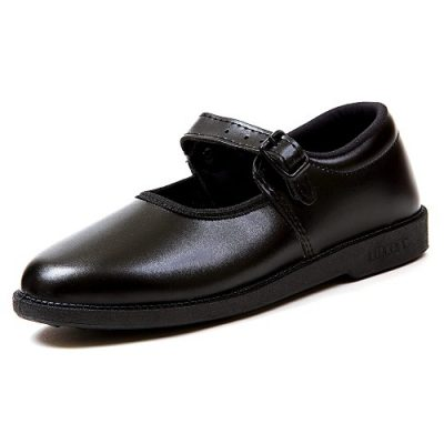 Liberty Girl School Black Shoes