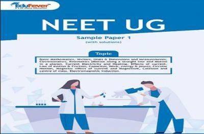 NEET UG Major Test Sample Paper 1