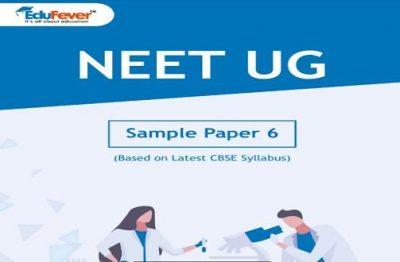 NEET UG Major Test Sample Paper 6
