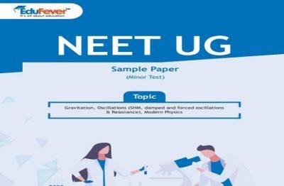 NEET UG Minor Test Sample Paper-11