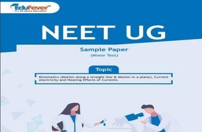 NEET UG Minor Test Sample Paper-2