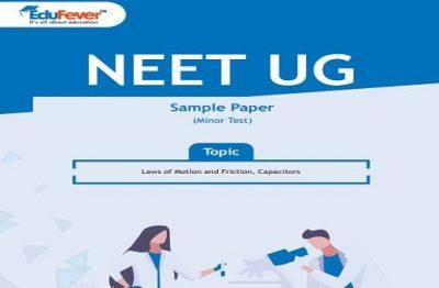 NEET UG Minor Test Sample Paper-3