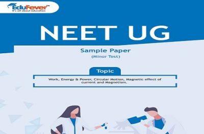 NEET UG Minor Test Sample Paper-5