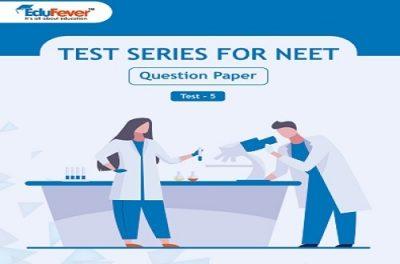 NEET UG Sample Paper Set 5 in Hindi