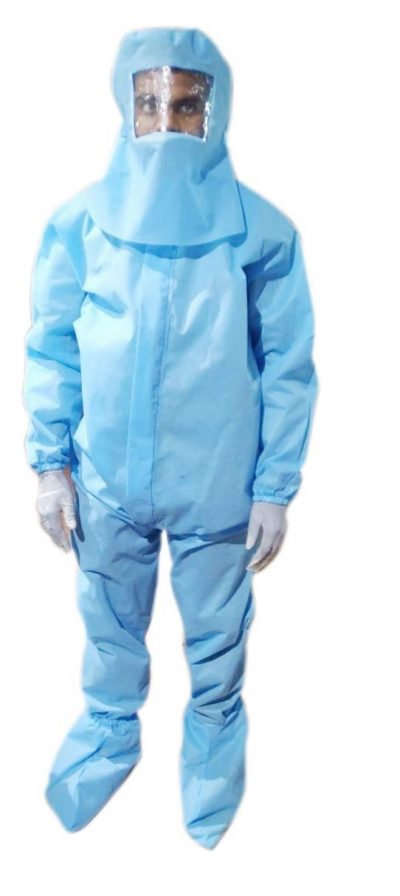 PHOENIX PPE Kit 95 GSM (Sterile) Full Body Coverall Suit