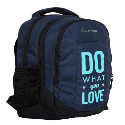 POLESTAR Noble Sky Blue Casual Laptop Backpack