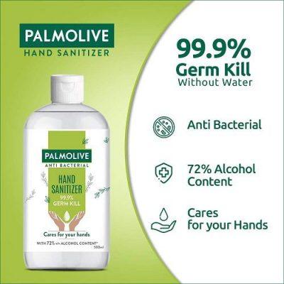 Palmolive Antibacterial Hand Sanitizer, 72% Alcohol Based Sanitizer
