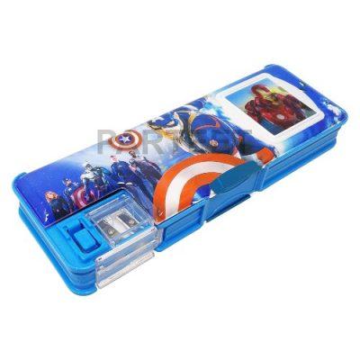 Parteet Dual Side Magnetic Multi-functional Pencil Box