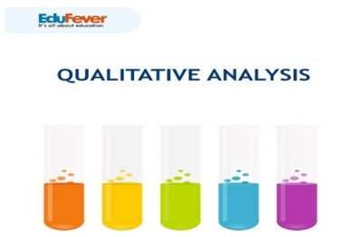 Qualitative Analysis Revision Notes