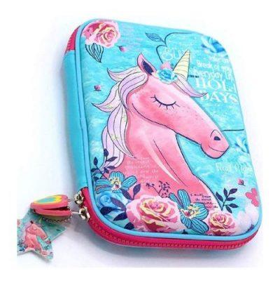 ShopNGift Premium Stylish Unicorn Pencil Case