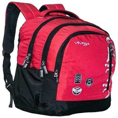 Viviza Backpack Bag, School Bag, College Bag-Viviza Red Backpack