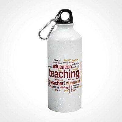 iKraft® Inspirational Teaching Quotes Printed Water Bottle
