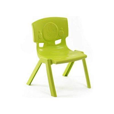 Nilkamal LivShine Intra Kid's Strong and Durable Kids Plastic School Study Chair (Green, Medium)