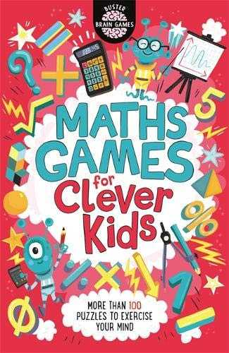Maths Games for Clever Kids (Buster Brain Games) Paperback