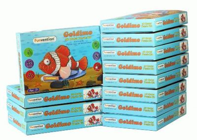 Funvention- for Little Scientist in Every Kid Goldimo 3D Puzzle Model Kit