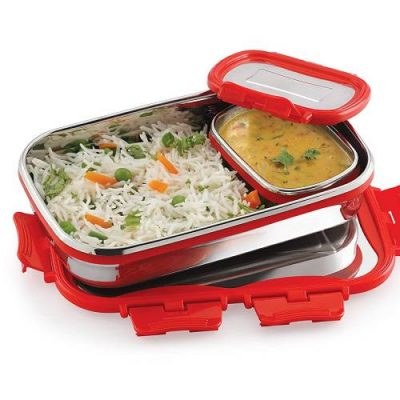Cello Click It Stainless Steel Lunch Pack