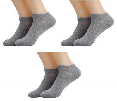 khakey cotton® boy & girl School Uniform Ankle Length Cotton socks free size