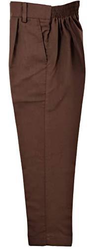 School Uniform Brown Full Pant Boys by M/S Bharat Garments