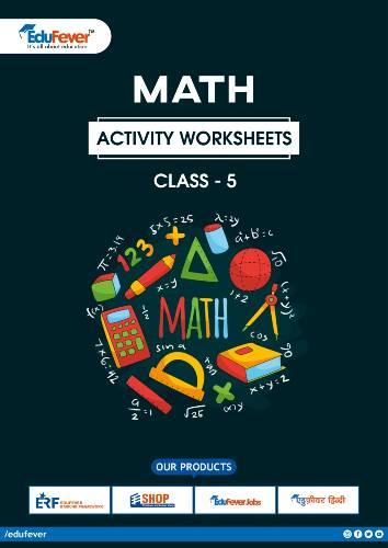 CBSE Class 5 Maths Activity Worksheet