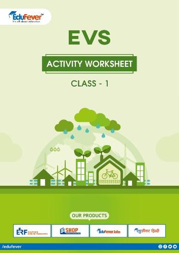 CBSE Class 1 EVS Activity Worksheet