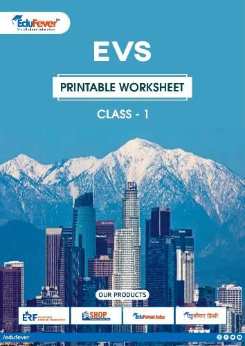 CBSE Class 1 EVS Printable Worksheet