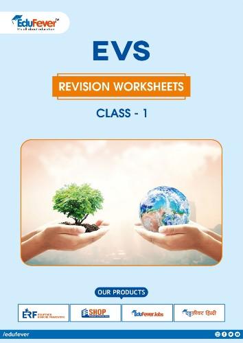 CBSE Class 1 EVS Revision Worksheet