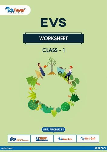 CBSE Class 1 EVS Worksheet