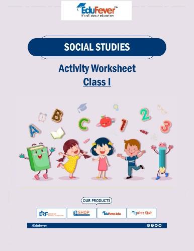 CBSE Class 1 Social Studies Worksheet