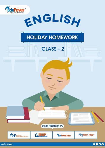 CBSE Class 2 English Holiday Homework