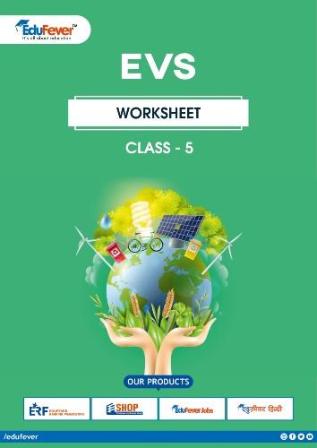 CBSE Class 5 EVS Worksheets