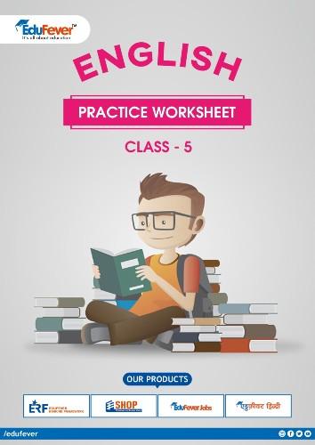 Class 5 English Practice Worsheet
