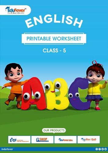 Class 5 English Printable Worksheet