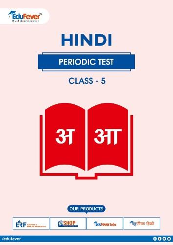 Class 5 Hindi Periodic Test