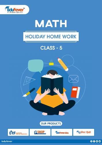 CBSE Class 5 Maths Holiday Homework