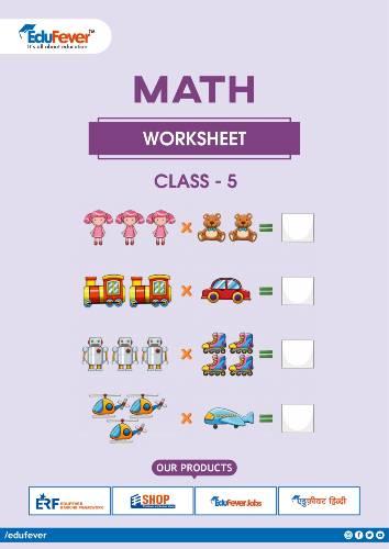 CBSE Class 5 Maths Worksheet